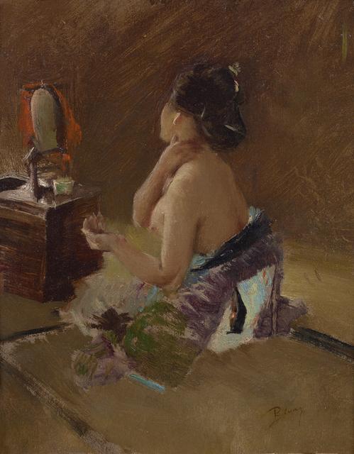 , 'Japanese Lady at her Toilet ,' ca. 1890-1993, Debra Force Fine Art