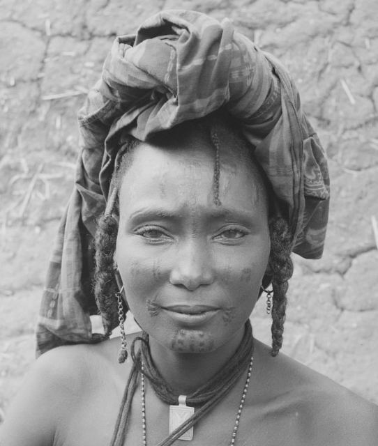 Hector Acebes, 'Unidentified Woman, Nigeria', 1953, Photography, Gelatine silver print, Nomad Gallery