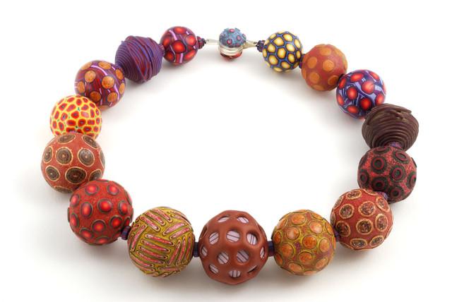 , 'Big Bead Necklace #49,' 2012, form & concept