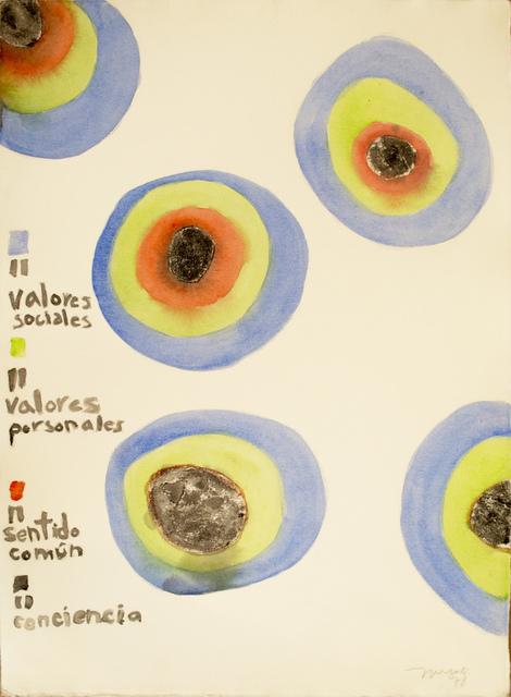 , 'Valores sociales, personales, etc.,' 1978, WALDEN