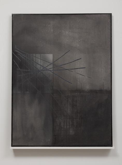 , 'black slug (Austin, Nov. 2013),' 2013, Lora Reynolds Gallery