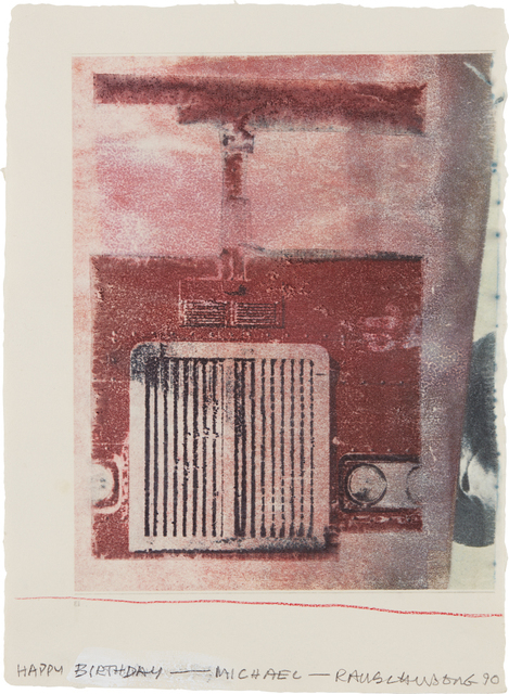 Robert Rauschenberg, 'Untitled', 1990, Phillips