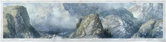 , 'Vissoie St.Niklaus Simplon,' 2015, John Martin Gallery