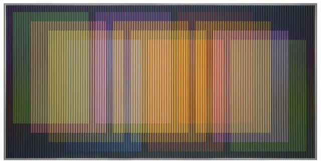 Carlos Cruz-Diez, 'Physichromie 1962', 2015, La Patinoire Royale / Galerie Valerie Bach