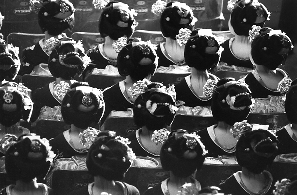 Kiichi Asano, 'Maikos Gathered All Together At The Commencement Ceremony', January 1956, Scott Nichols Gallery