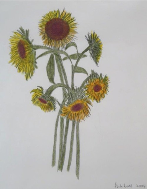 , 'Bouquet of Sunflowers,' 2004, Andrea S. Keogh Art and Design