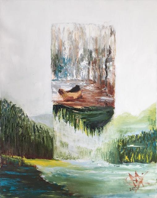 , 'Lifting my canoe ,' 2019, Lotus Art Gallery