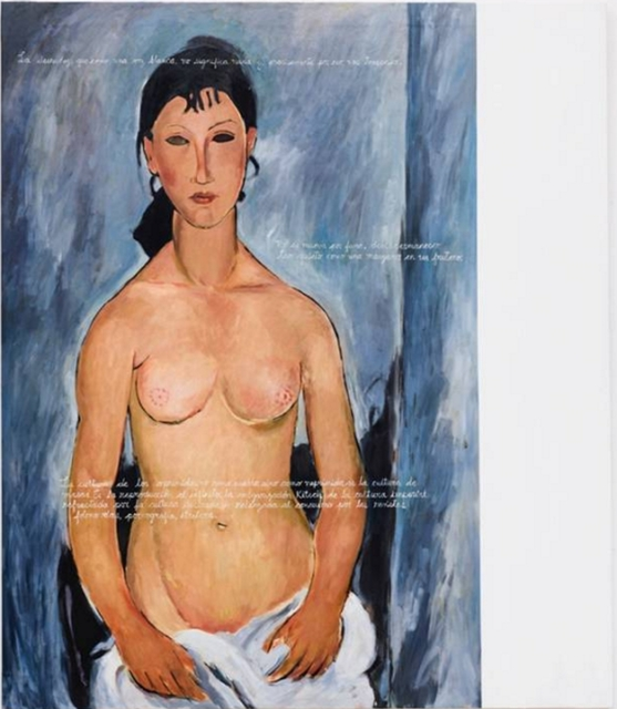 , 'VERSION ORIGINAL CON SUBTITULOS EN ESPAÑOL III (MODIGLIANI),' 2016-2017, Galería Juana de Aizpuru