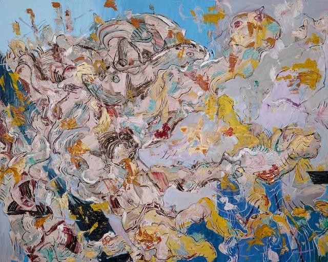 Marwan Sahmarani, 'Untitled', Painting, Oil on Canvas, Leila Heller Gallery