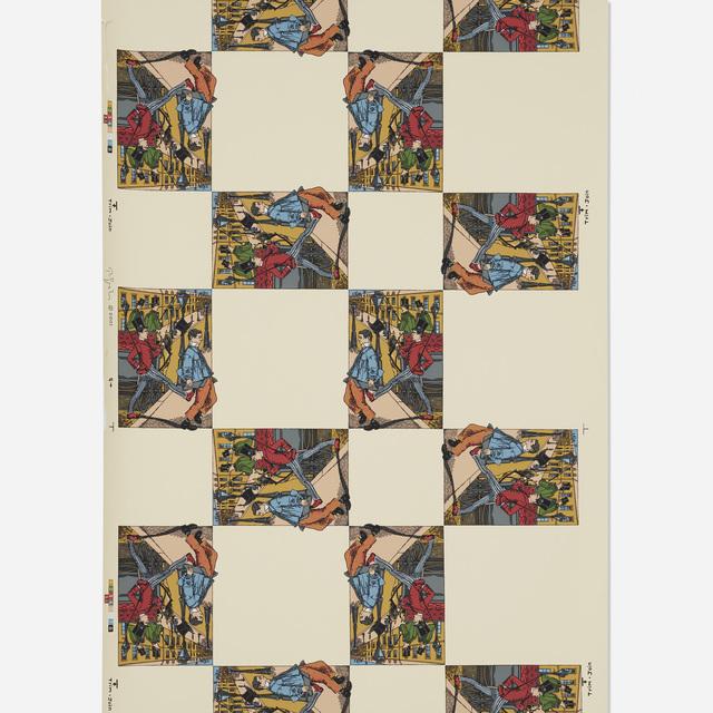 Rodney Graham, 'City Self/Country Self wallpaper (three rolls)', 2001, Wright