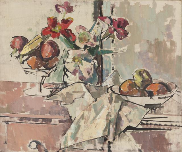 Herbert Barnett, 'Still Life with Fruit and Flowers', Early 1950s , Childs Gallery