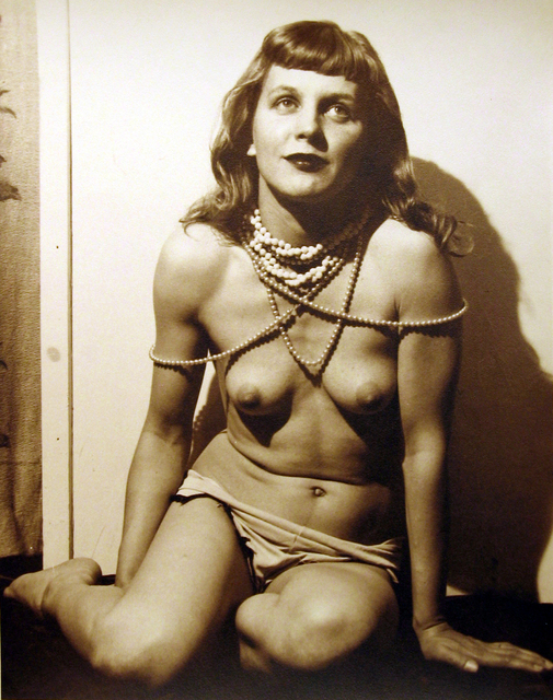 , 'Marie w Beads,' ca. 1940, Carl Hammer Gallery