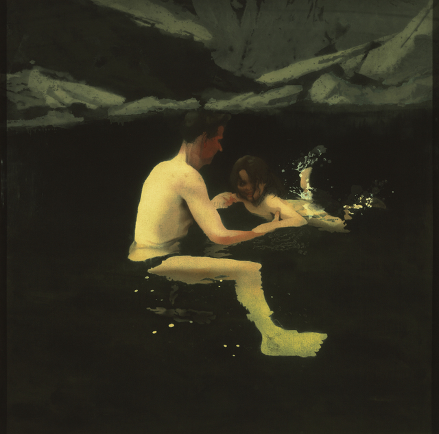 , 'Melanie and Me Swimming , 1978 – 1979,' 1978-1979, J. Paul Getty Museum