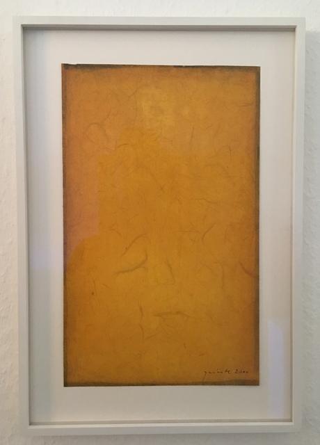 , 'Yellow gouache,' 2000, Sebastian Fath Contemporary
