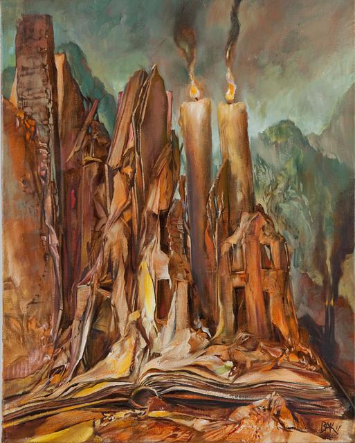 Samuel Bak, 'In the Book', 2017, Pucker Gallery
