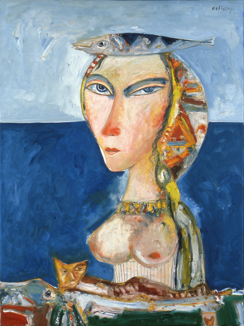 John Bellany R.A., 'Woman of the Sea', 1995, Flowers
