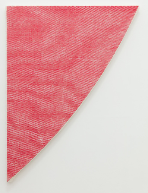 Tammi Campbell, 'Red Curve, wrapped', 2019, Anat Ebgi