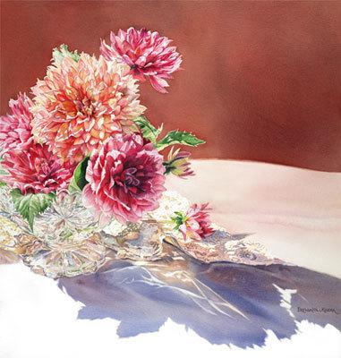 , 'Dazzling Dahlias,' , Peninsula Gallery