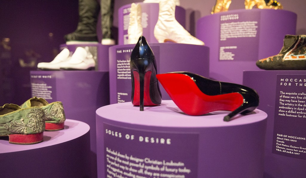 """Shoes: Pleasure and Pain"" at Victoria and Albert Museum (2015) Courtesy Victoria and Albert Museum"