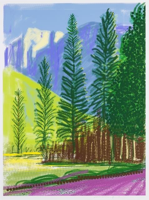 David Hockney, 'Untitled No.12', 2010, Forum Auctions