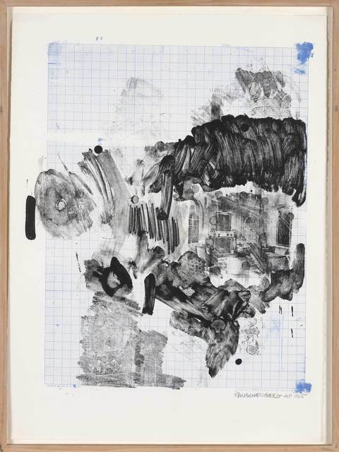 Robert Rauschenberg, 'Visitation I (Foster 29)', 1965, Print, Color lithograph, on Rives BFK paper, Doyle