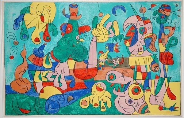 Joan Miró, 'II. Ubu Roi: Le Banquet', 1966, Contessa Gallery