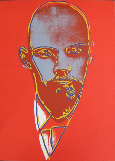 Andy Warhol, 'Lenin', 1986, Painting, Synthetic polymer paint and silkscreen inks on canvas, Coskun Fine Art