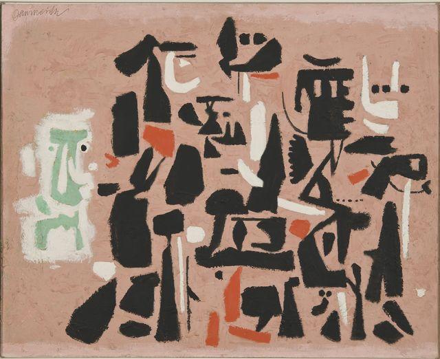 , 'Figuration auf Rosa,' 1951, Galerie Klaus Gerrit Friese