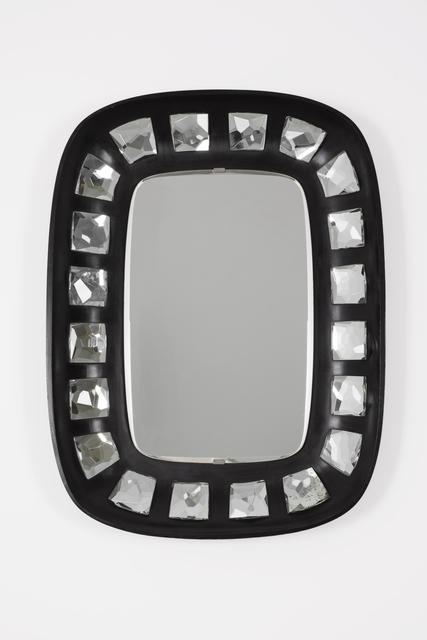 Max Ingrand, 'Mirror Model 2045', 1957, Design/Decorative Art, Back polished wood frame, set-in mirrored facet cut glasses, Giustini/Stagetti Galleria O. Roma