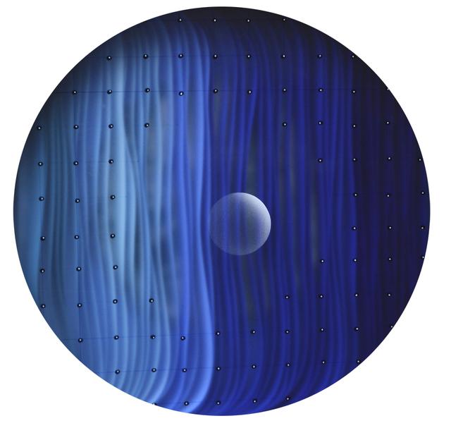 , 'Ultramarine 3D-Sphere,' 2015, Addison/Ripley Fine Art