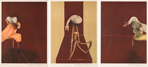 Second Version of Triptych 1944, (Small Version)