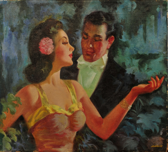 Andrews, 'Sophisticated Couple', ca. 20th Century, The Illustrated Gallery