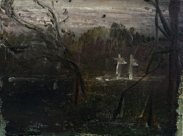 , 'Cemetery Landscape III.,' 2017, Art+Text Budapest