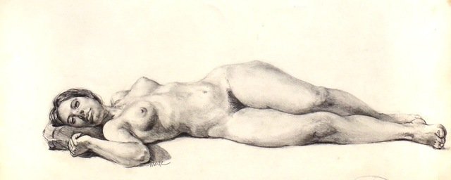 Don Maitz, 'Model Reclining', 2003, IX Gallery