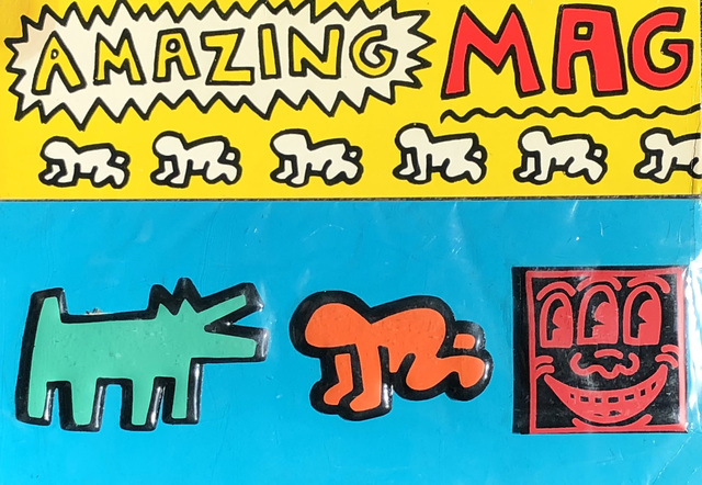 Keith Haring, 'Keith Haring Pop Shop magnets 1985 (set of 3)', 1985, Lot 180