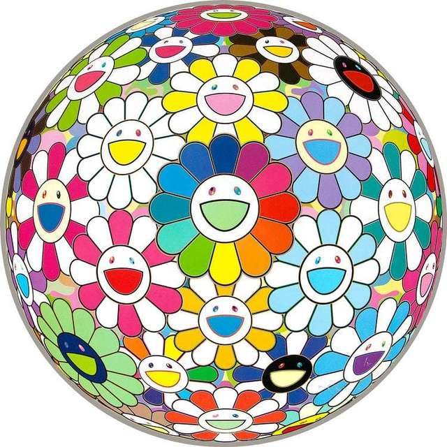 Takashi Murakami, 'Flowerball: Want to Hold You ', 2016, Pop Fine Art