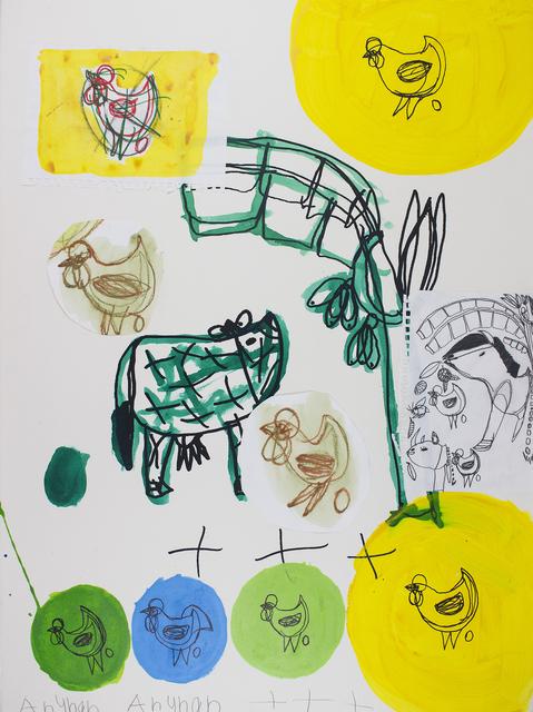 , 'Green Cow & Banana Tree,' 2017, Studio A