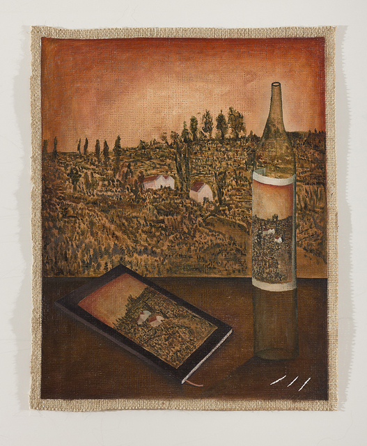 , ' Between bottles and fruits, field and sky,' 2016-2017, MCHG - María Casado