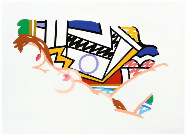 Tom Wesselmann, 'Monica Nude with Lichtenstein', 2002, michael lisi / contemporary art