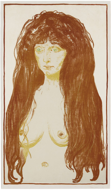 Edvard Munch, 'Die Sünde (Woman with Red Hair and Green Eyes, The Sin)', 1902, Christie's