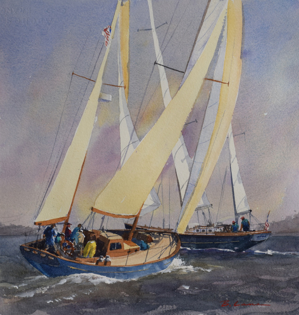 , 'Ketch Up Y'awl,' , Copley Society of Art