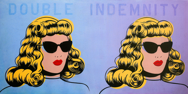 , 'Double Indemnity,' 2014, Jonathan LeVine Projects