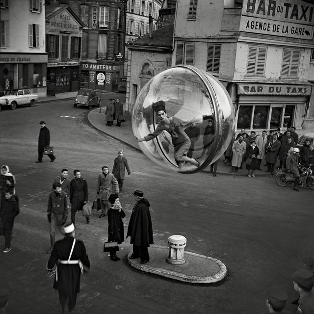 , 'Lumiere Street, Paris,' 1963, Holden Luntz Gallery