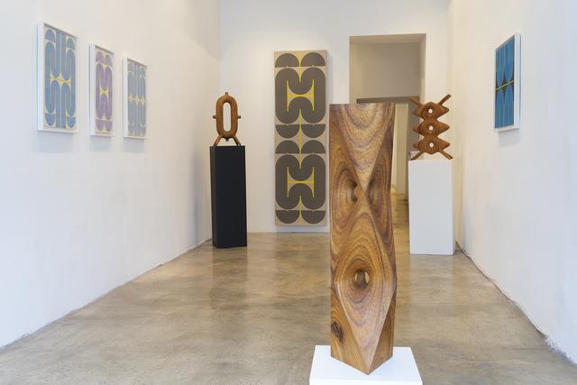 Elise Ferguson, 'Belted', 2020, Painting, Pigmented plaster on paper, Massey Klein Gallery