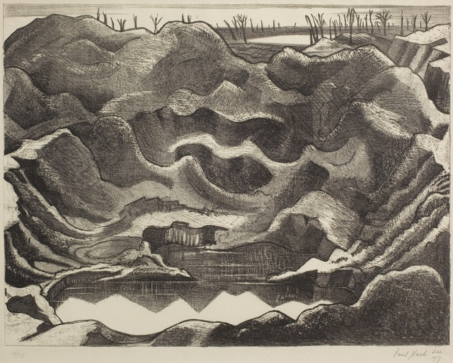 Paul Nash, 'Mine Crater Hill 60, Ypres Salient ', 1917, Piano Nobile