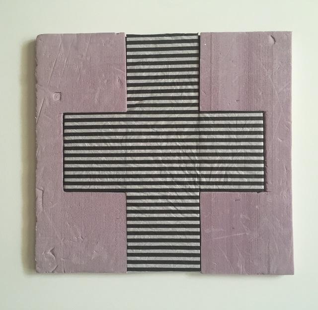, 'Form No.20 (b&w & pink),' 2019, Amos Eno Gallery