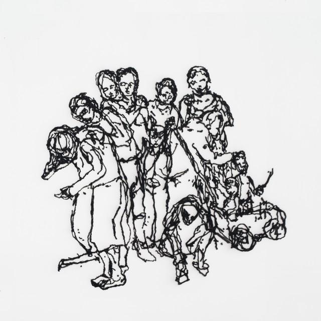 , 'Vorfahren und Nachkommen, aus der Reihe: Der Familienkreis,' 2015, Galerie Tore Suessbier