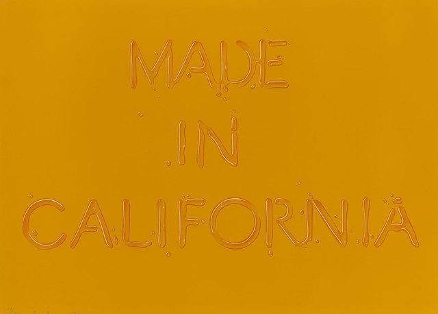, 'Made In California,' 1971, Coagula Curatorial