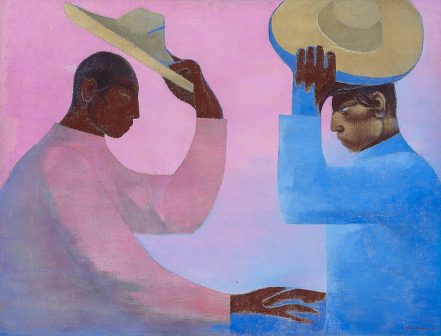 , 'The Greeting,' 1955, Latin American Masters