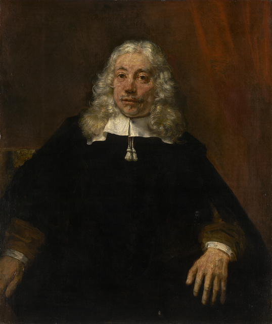 , 'Portrait of a Blond Man,' 1667, The National Gallery, London